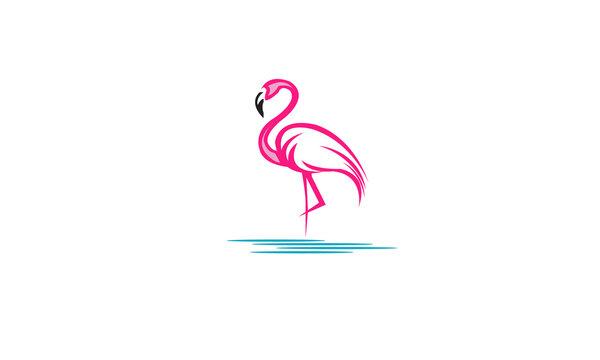 Flamingo-logo