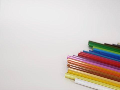 色鉛筆 カラフル コピースペース