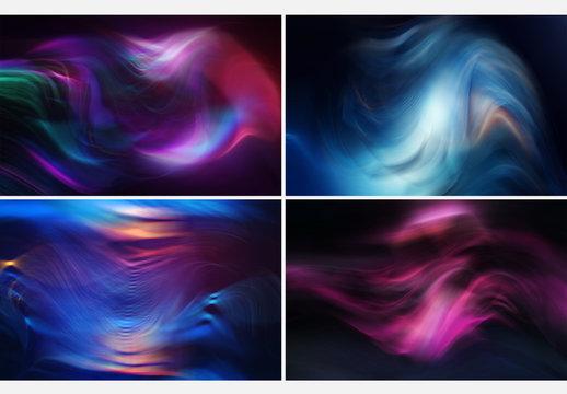 6 Abstract Smoke Effect Backgrounds