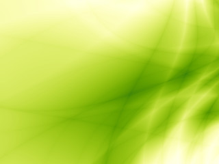 Leaf wallpaper abstract green bright nature design