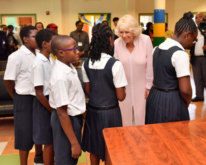 Britain's Prince Charles and Camilla, Duchess of Cornwall Caribbean tour