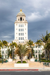 Fotobehang Los Angeles Town Hall in Beverly Hills, California