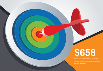 Dart and Target Infographic