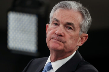 U.S. Federal Reserve Chairman Powell holds news conference following two-day policy meeting in Washington