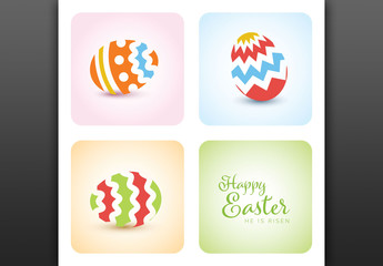 Easter Card Layout