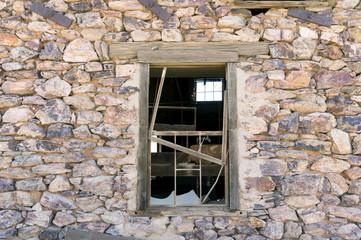 Abandoned Gold Mine - building in decay near Wickenburg, Arizona Wall mural