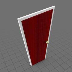 Stylized door