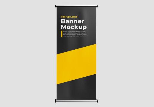 Roll Up Banner Mockup