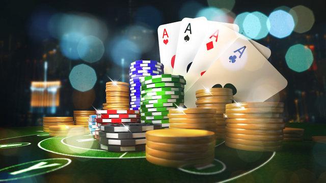 Online mobile casino background