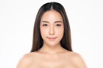 Beautiful Young asian Woman with Clean Fresh Skin Fototapete