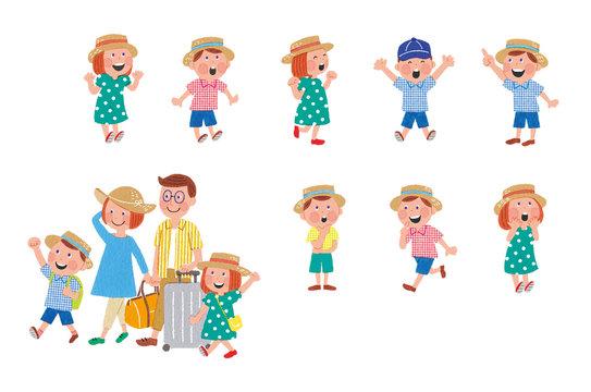 家族旅行 リアクション