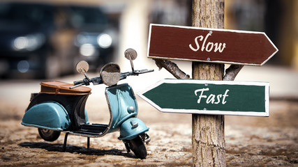 Sign 368 - Fast