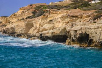 Peyia sea caves (Paphos) - Cyprus