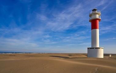 Wall Mural - Delta del Ebro lighthouse Punta del Fangar