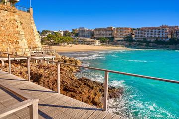 Wall Mural - Salou Platja Capellans beach in Tarragona