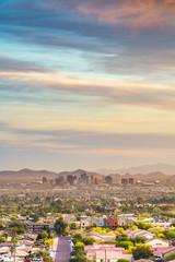 Fototapete - Phoenix, Arizona, USA downtown cityscape