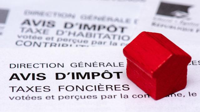 Avis d'impôt taxes foncières, France