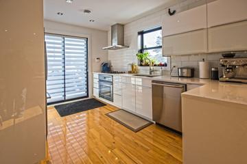 Photo sur Toile Les Textures Modern home interior