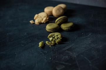 food photography cakes macaron
