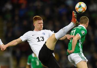 Euro 2020 Qualifier - Group C - Northern Ireland v Estonia
