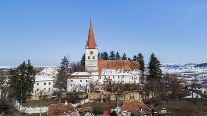 Cincu medieval church