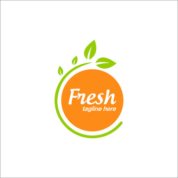 orange logo design