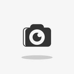 camera modern style icon for app logo design