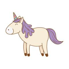 cute fairytale unicorn character