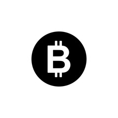 Cryptocurrency bitcoin symbol