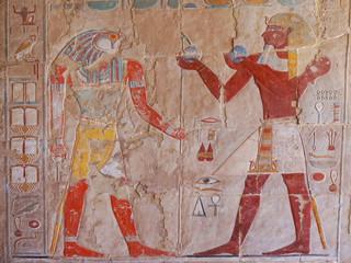 Printed roller blinds Egypt hieroglyph in temple of queen hatsepsut