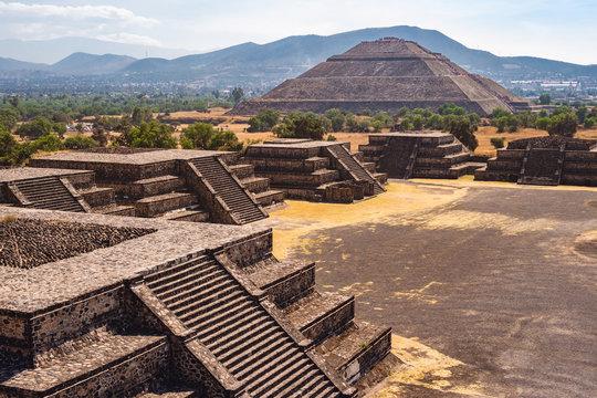Teotihuacan Pyramids Near Mexico City, Mexico