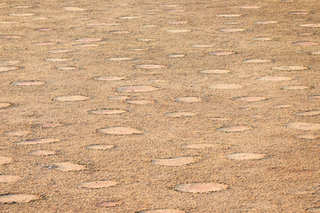 Fairy circles in the Namib desert, Namibia.