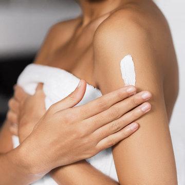 Collagen body butter concept