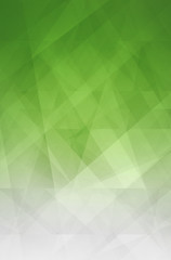 abstract green and white background with modern geometric pattern design with glass texture