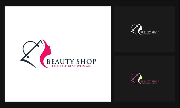 bag and woman icon shopping logo
