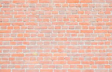 Spoed Foto op Canvas Baksteen muur red brick wall background