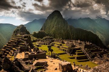 Garden Poster South America Country Machu Picchu Peru Travel