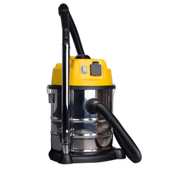 Large industrial vacuum cleaner - yellow.