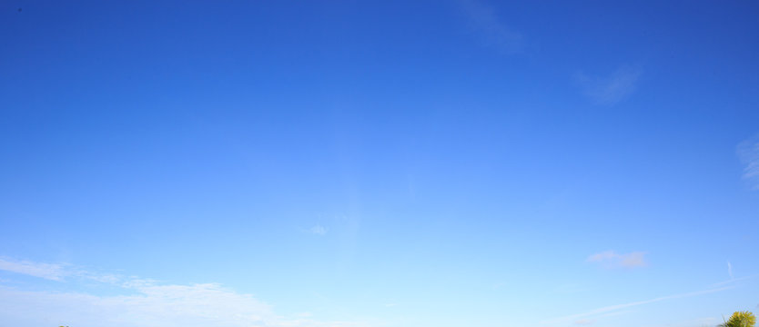 Blue Sky sunny day light whispy cloud replacement