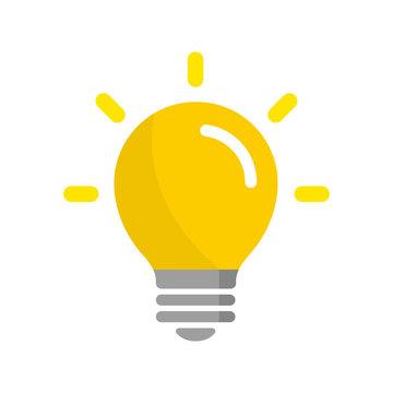 light bulb / idea / inspiration icon