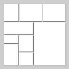 Mood board template