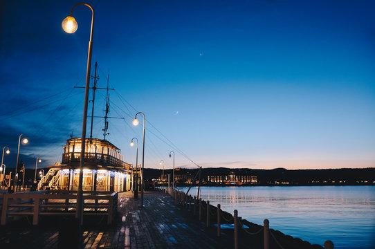 Ship at the port