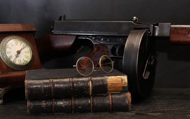Old USA Submachine Gun