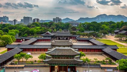 Aluminium Prints Seoul changgyeonggung palace in Seoul South Korea