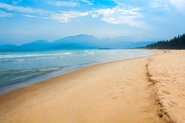 Beach near Danang city, Vietnam