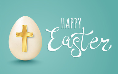 Vector lettering for Easter