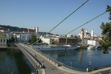 Hengebrücke Passau Bayern