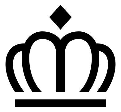 Crown Royalty Premium Best Icon