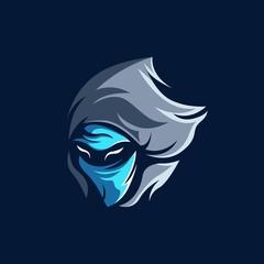 Shadow Assassin Esport Mascot Logo Template