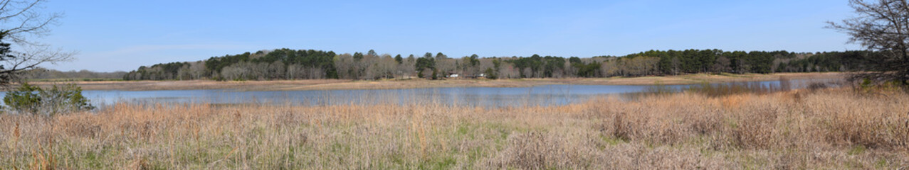 Old Natchez Trace Lake in Trace State Park, Mississippi
